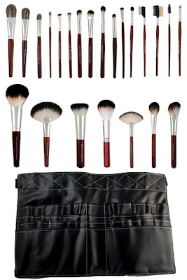 Makeup Artist Makeup Brush Set with Apron Toolbelt