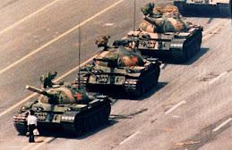 Tiananmen tank man