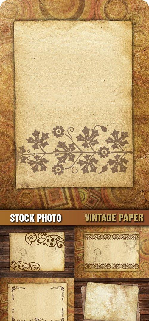 Stock Photo - Vintage Paper