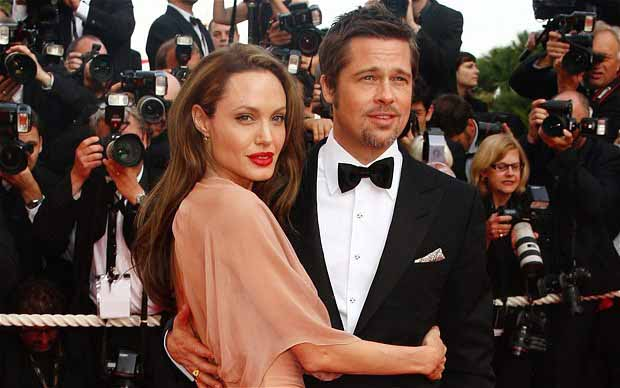 brad pitt and angelina jolie wedding. Brad Pitt and Angelina Jolie