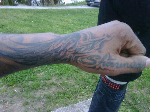 Labels Tribal Tattoo hand