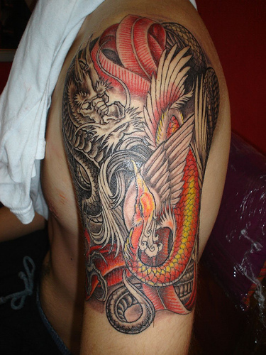tattoo designs dragon. dragon tattoo designs.