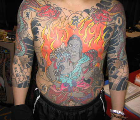 Full Design Japanese Tattoo