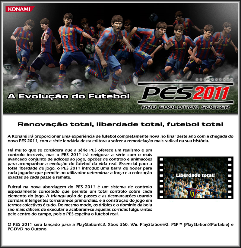 Pes 2010 Demo: Confirmada A Data Da DEMO