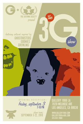 3G Show (Gallery 1988) poster