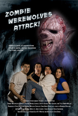 Zombie Werewolves Attack Poster