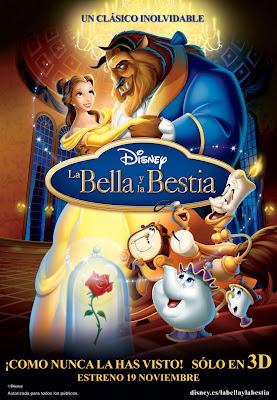 La Bella y la Bestia en 3D