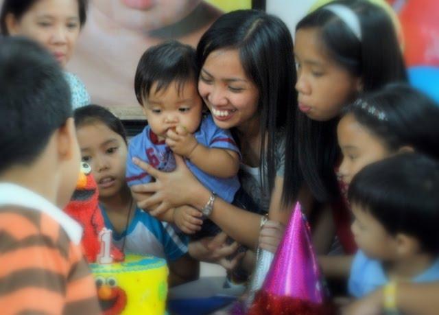 Alden Niño Gabriel Cabreros Camaya, Rizaleen Camaya's first baby boy, First Birthday Celebration at School of the  Holy Child in Pampanga