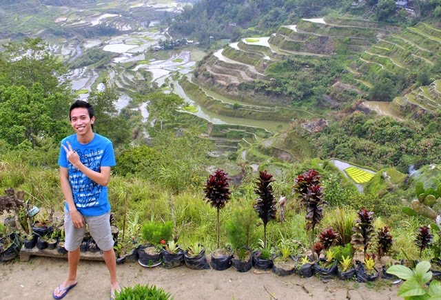 Banaue rice Terraces, Ifugao, Holy Week road trip with Up With People Cast A 2010