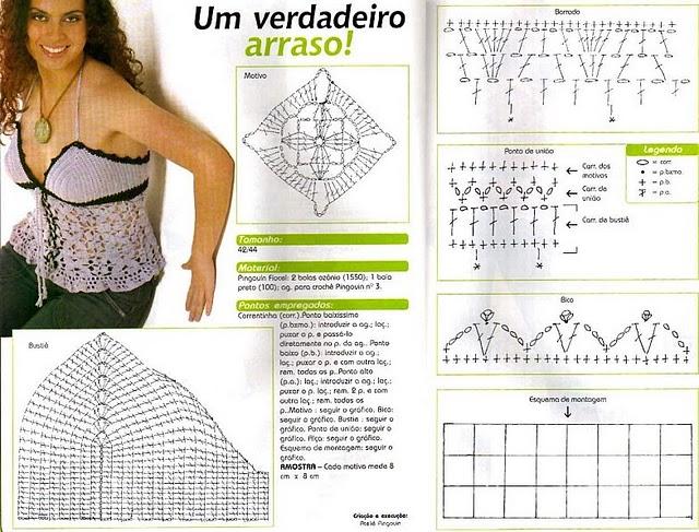 Faldas en crochet picasa - Imagui
