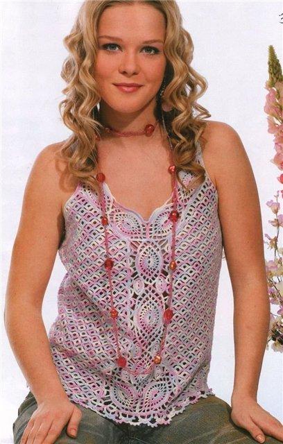 Blusas caladas tejidas a crochet - Imagui