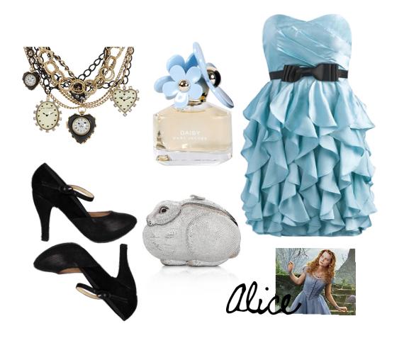 "Material Instinct: Alice In Wonderland ""Prom-spiration"""