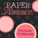 I won at Paper Romance!
