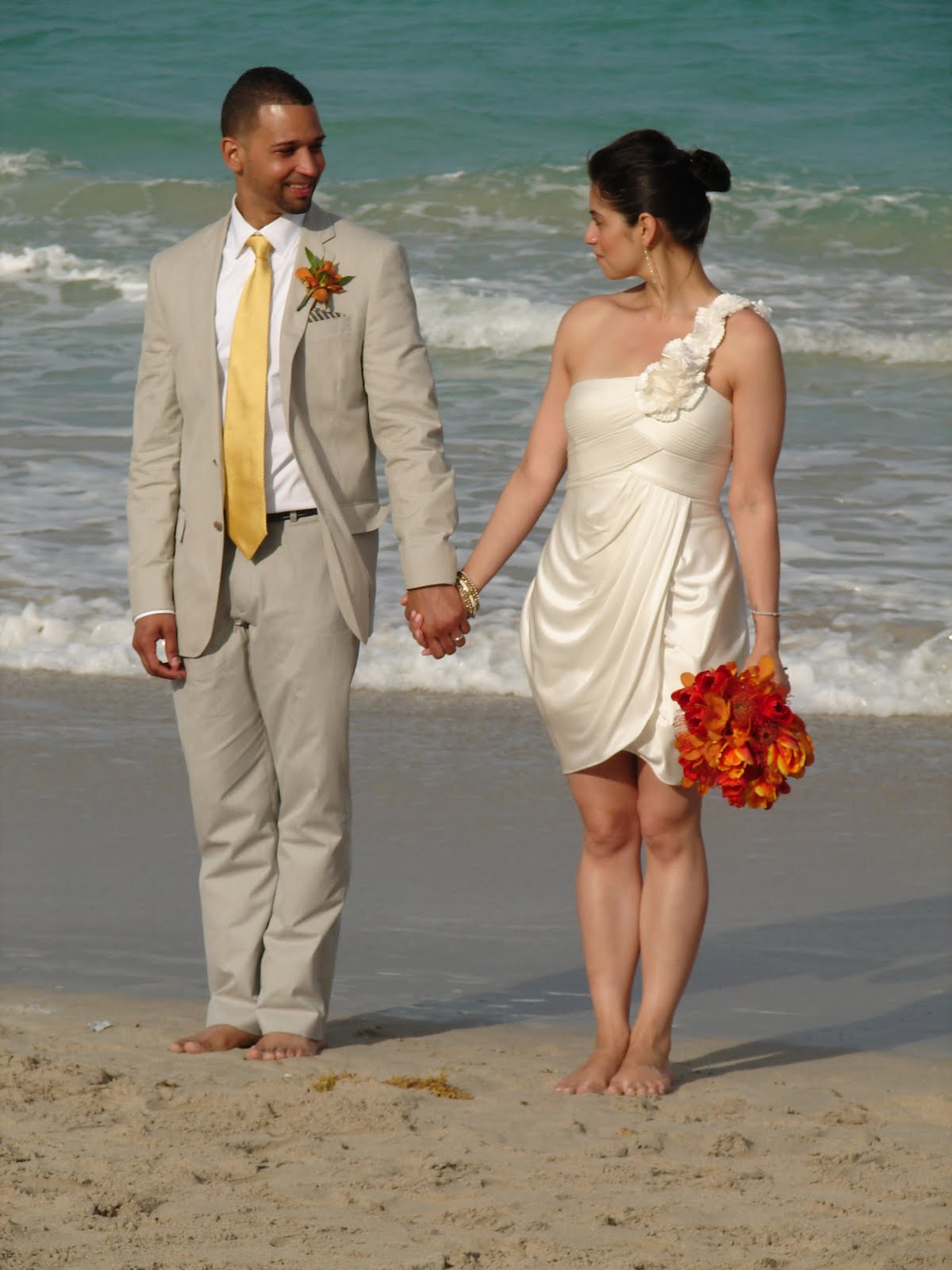 elegant beach weddings real wedding ivonne and ben