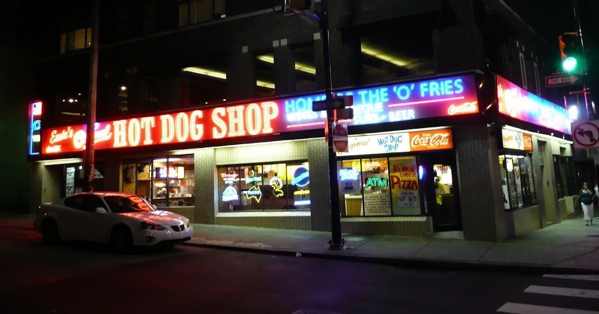 pig out spots essie 39 s original hot dog shop pittsburgh pa. Black Bedroom Furniture Sets. Home Design Ideas