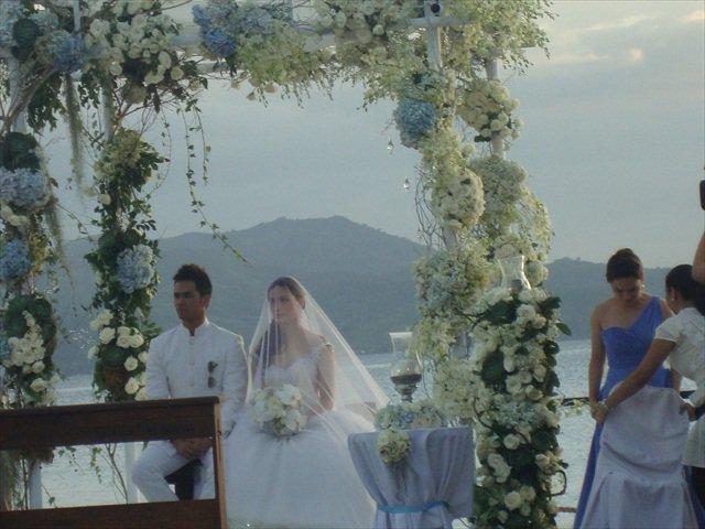 Kristine Hermosa and Oyo Sotto Wedding
