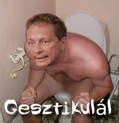Geszti Péter : gesztikulál