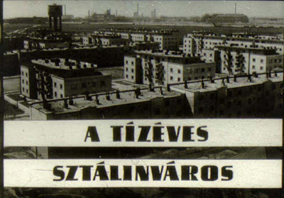 Sztalinvaros, Stalin, Stalin city, city, Stalinstadt, Magyarorszag, Hungary, Ungarn
