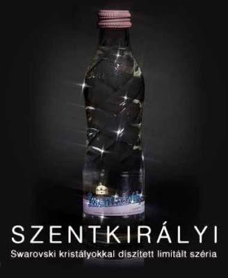 Szentkirályi ásványvíz, limitált széria, Swarovski kristály