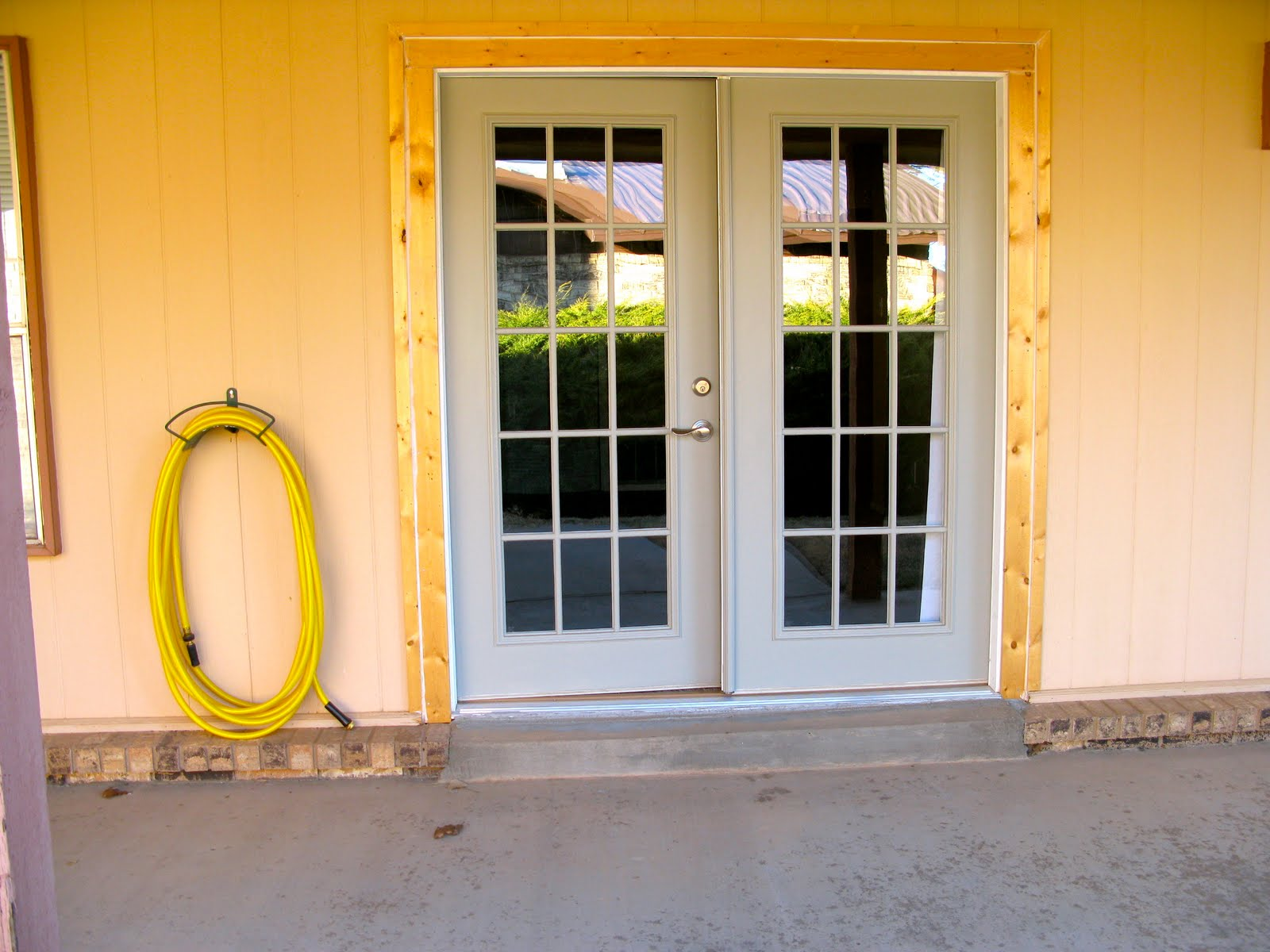 Mama Ds Blog Replacing The Front Door Changing Sliding Doors To