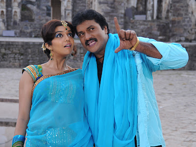 Sunil, Swathi from Latest Telugu Movie KSD Appala Raju