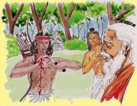 Ekalvya guru Dronacharya