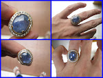 BIG Blue Safir Srilangka ± 11Ct