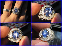 [RESELLER PRICE] 2,14 ct NON HEAT BLUE SAFIR STAR CEYLON