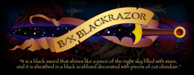 B/X BLACKRAZOR