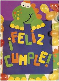 Buenos Dias Me Presento Tres+Chic+cartel+Feliz+Cumple