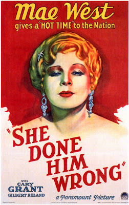 "Mae West in ""She Done Him Wrong"""