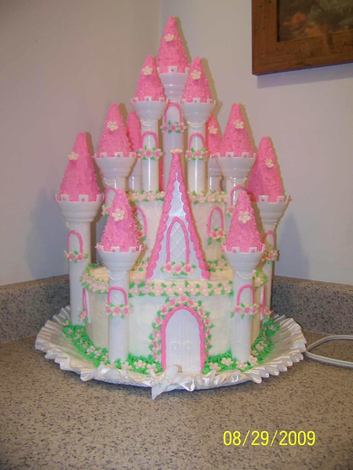 The RedHeaded Baker Princess 1st Birthday Cake