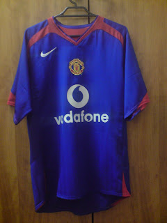 c516c24e8 My Jersey Collection  Manchester United 2005-2006 Away Jersey