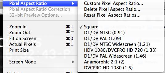 Forensic Multimedia Analysis New Pixel Aspect Ratio Options