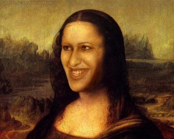 The Funtoosh Page....Have FunBath !!!: All Faces Of Mona Lisa