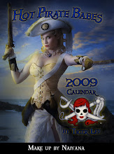 Hot Pirate Babe Calendar
