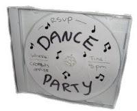 invitaciones cd con musica