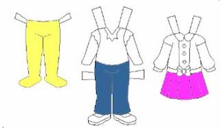 vocabulario ropa vestir ingles