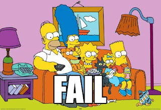 Fail fail simpsons fail fail - Les simspon tv ...