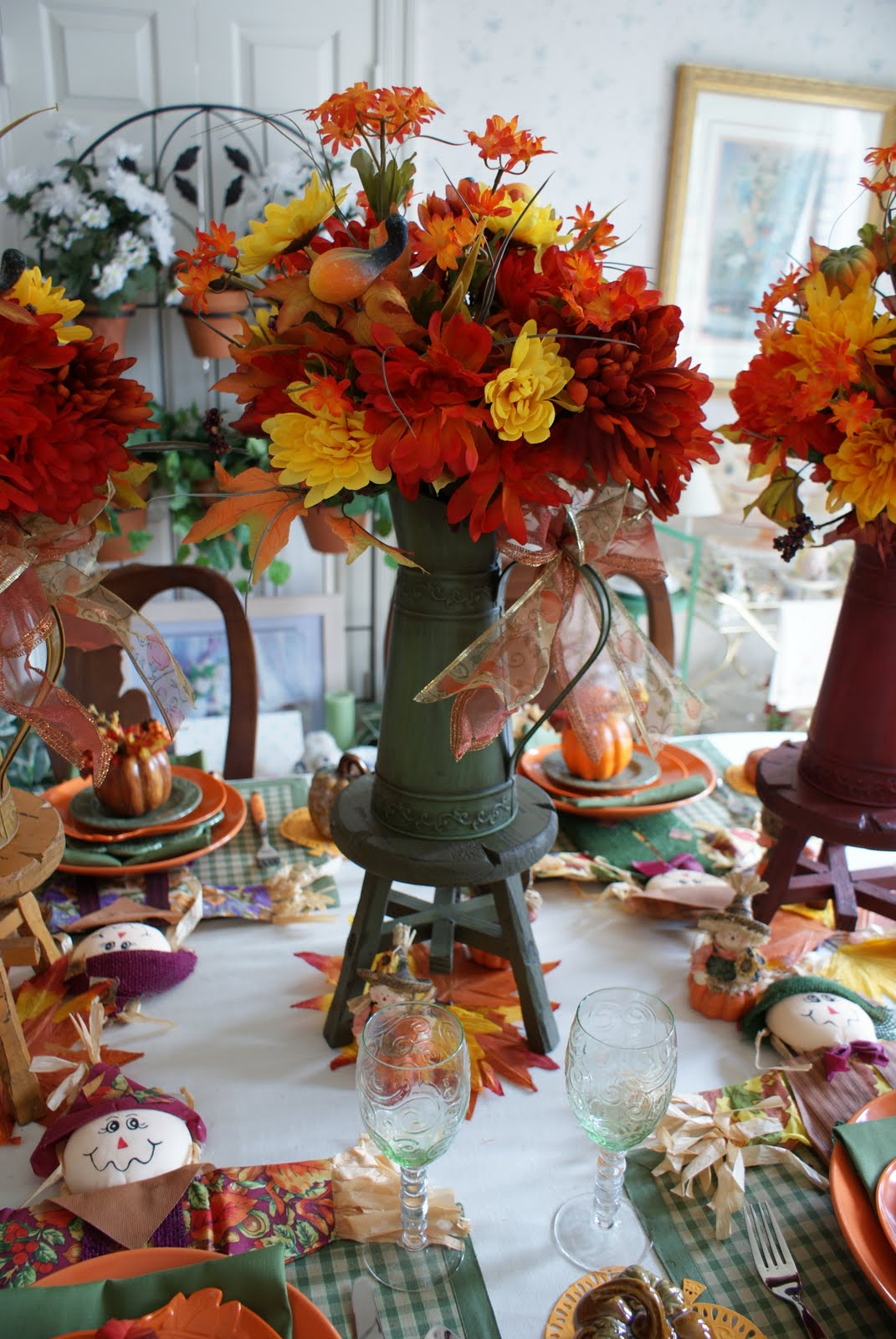 Tea in texas scarecrows come to the fall