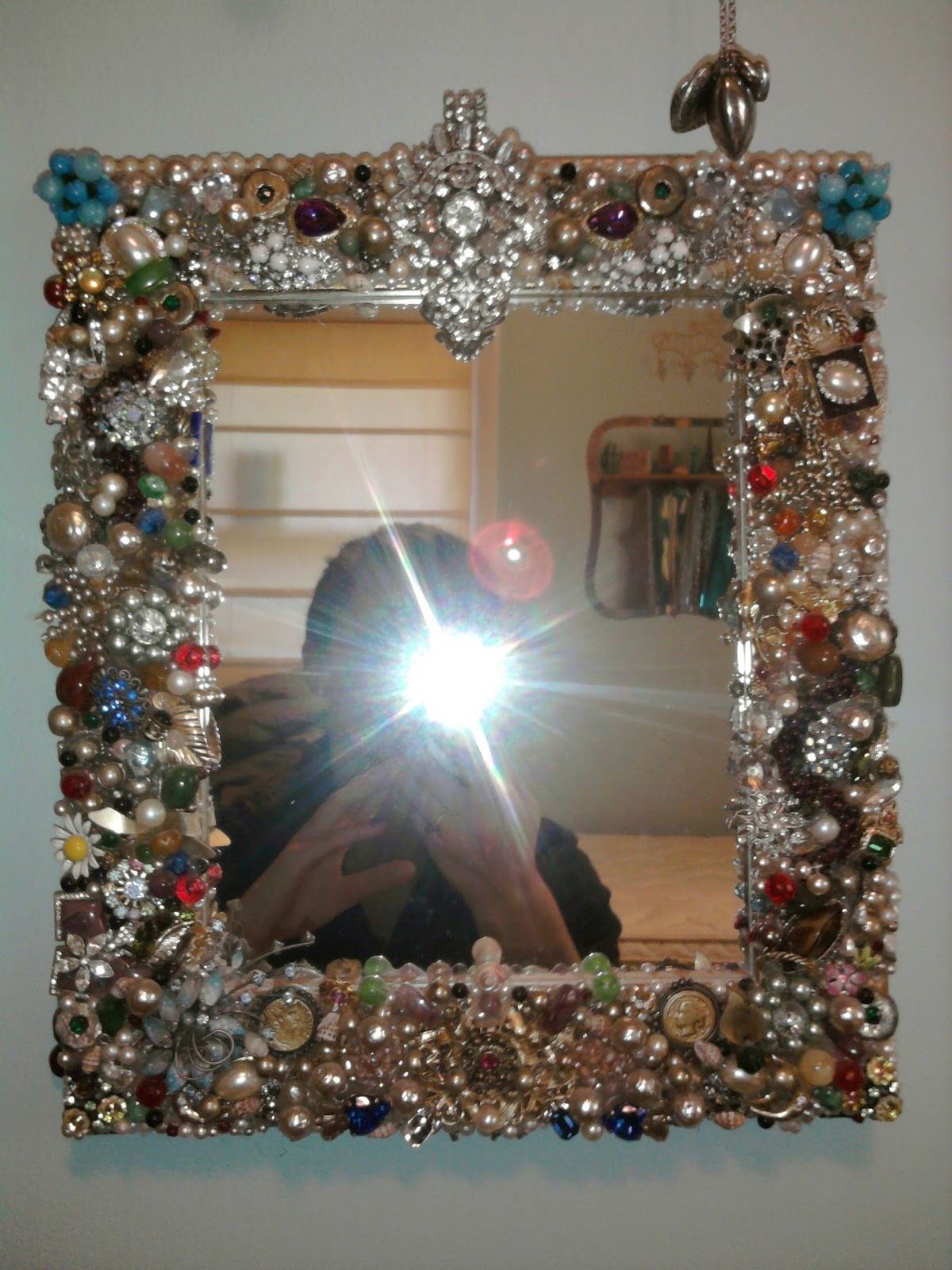 Sharing Is Caring Jewelry Mirror