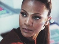 Uhura - Star Treck 2 Movie