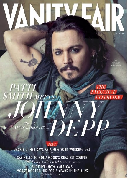 johnny depp 2011 images. johnny depp vanity fair photo