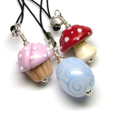 Lampwork Dangles by Laura Sparling