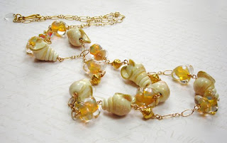Janine Byrom Seashell Necklace