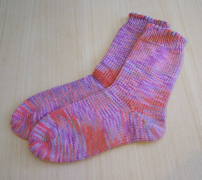 My First Pair Of Handmade Socks