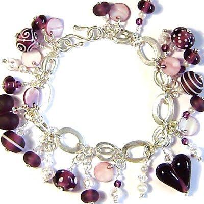 'Berry' bracelet by Debra Farrell