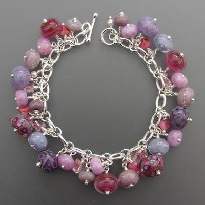 'Dusky Dream' bracelet by Joy Funnell