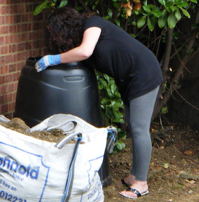 Installing the composter