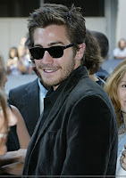 Velvety moviestar!Jake at the TIFF screening of his mom's film Bee Season